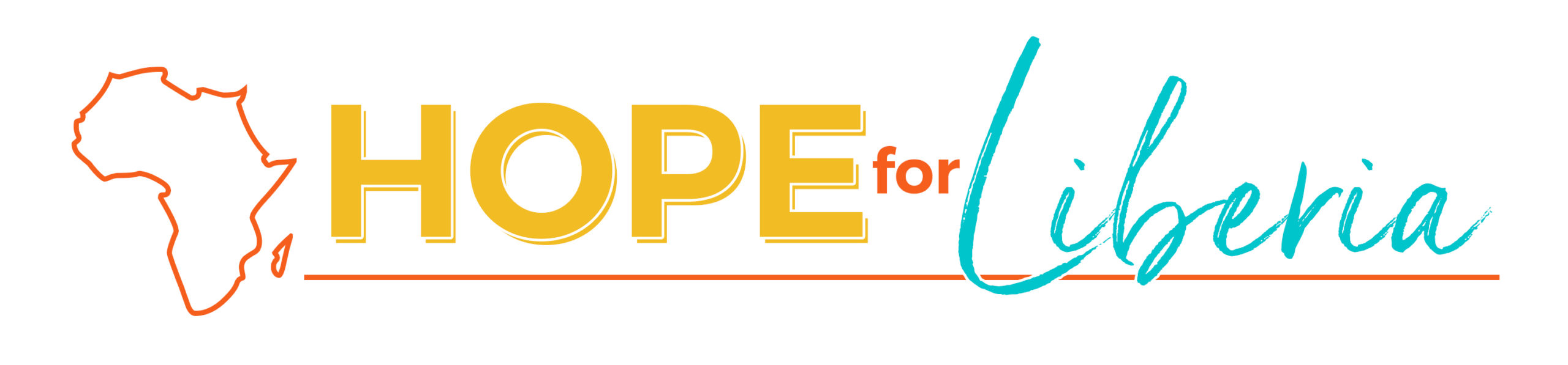 Hope for Liberia Wide Logo